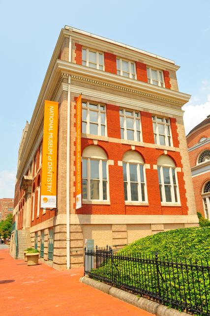В Балтиморе находится Национальный музей стоматологии